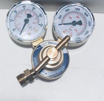 Image Brass Oxygen Regulator For Victor Welding Torch Cutting Kits Cga 540
