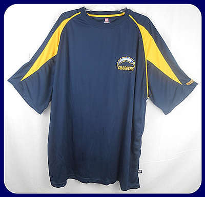 San Diego Chargers NFL Apparel Dri Fit Crew Neck Shirt Big & Tall - San Diego Clothes