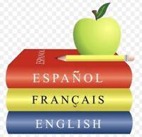 Cours d'espagnol gratuit vs cours d'anglais