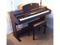 Yamaha Clavinova CLP-920 Digital Piano with weighted keys and 2 pedals, matching stool FREE DELIVERY