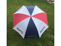 First Group, Red/White/Blue Golf Umbrella, (Rare).