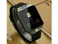 New Bluetooth Smart Watch SIM Card Android HTC Samsung LG Smart Phone Camera UK