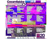 4 day gold creamfeilds pass £290 payed a lot more