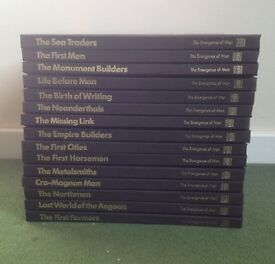 `The Emergance of Man`, 15x hardback books from a set of 21x , published by Time/Life