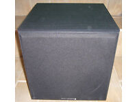 Wharfdale Diamond SW150 Subwoofer In Excellent Condition 5 Star Rated By What HiFi?