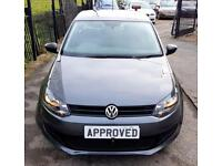 VOLKSWAGEN POLO 1.2 S A/C 5d 60 BHP Apply for finance Online today (grey) 2014