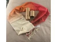 Beautiful lambswool scarf