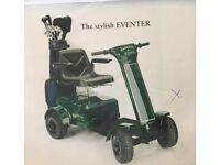 patterson eventer green golf buggy used