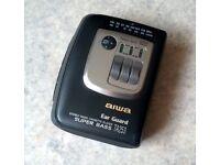 Aiwa TA253 Vintage Personal Radio Cassette Player