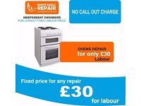 Electric oven, cooker hob and hob hood repair! Best deal in Edinburgh. Free gift!