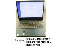 Lenovo-IdeaPad-3 (10th-gen/8gb-ddr4/256gb-nvme/Full-HD/MS-2019)