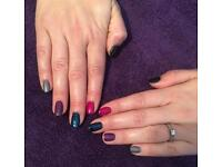 Shellac, waxing, defined brows, semi permanent lashes, mani&pedi, threading