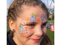 Fantastic Face Painting at your party or event! Reliable local Face & Arm Painter / Balloon Modeller