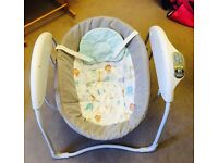 Graco rocker/musical baby chair