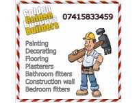 Golden Builders Extensions & Refurbishments Painting Flooring Bathroom Bedroom Construction wall