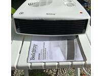 Beldray 3000w fan heater with instructions.
