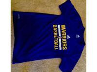 Golden state Warriors basketball training T shirt