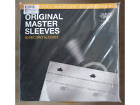 VINYL LP HI FI RECORD ANTISTATIC PROTECTION SLEEVES. 50 PACK MOBILE FIDELITY SOUND LAB NEW SEALED