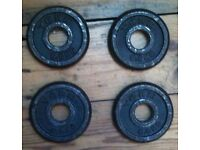 0.5kg Iron Plates x4