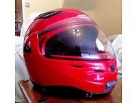 Caberg XL Flip top / full face crash helmet