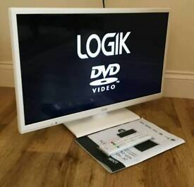 24in LOGIK LED TV Freeview built in
