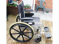 WHEEL CHAIR; COLLAPSIBLE; MOBILITY BUDDY;GOOD CONDITION