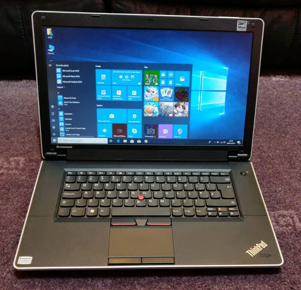 Lenovo laptop  Triple core, HDMI, 4gb ram Windows 10 | in Leicester,  Leicestershire | Gumtree