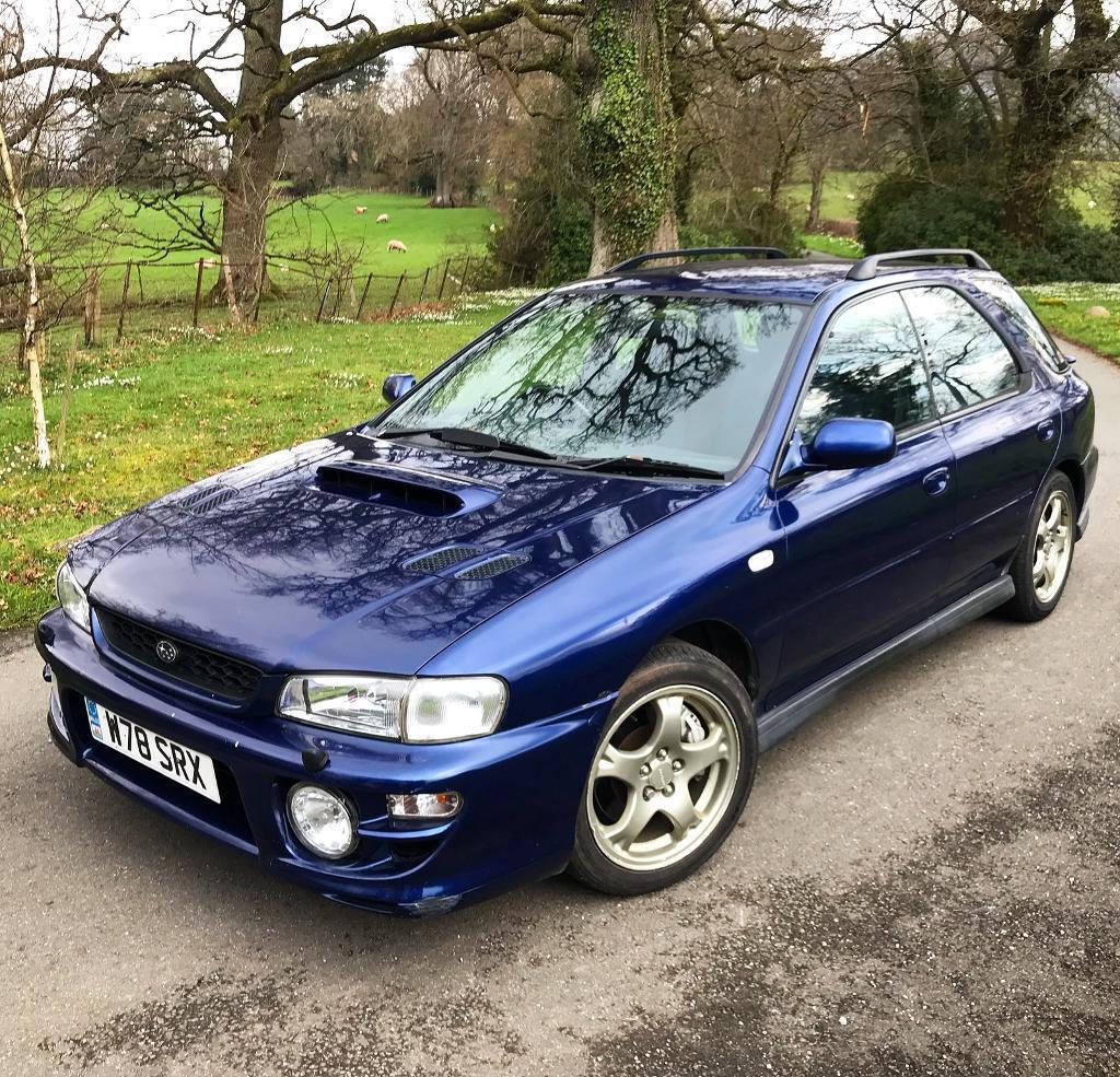 2000 Subaru Impreza Turbo 2000 Wagon Not WRX STI Full MOT, FSH