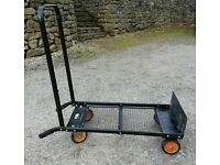 Black And Decker Tough Truck Trolley- Furniture moving / gardening/festival supplies- Glasto
