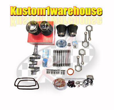 VW 1641cc Volkswagen Engine Rebuild Kit 87 X 69 Bug SuperBeetle Ghia Bus Mahle