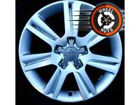 "17"" Genuine Audi A4 Golf Caddy alloys excel cond matching tyres."