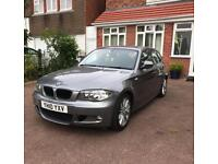 2010 BMW 1 SERIES 120D M SPORT 2.0 DIESEL CAR ONLY 39K LOW MILEAGE