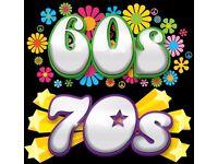 60'S & 70'S NOSTALGIA NIGHT! DRESS UP IF YOU DARE!