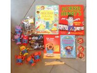 Bundle of kids books & toys
