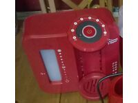 Tommee Tippee Perfect Prep Machine in limited edition red