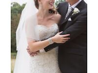 Essence of Australia Wedding Dress £1,800 new, bargain at just £550 including hoop petticoat
