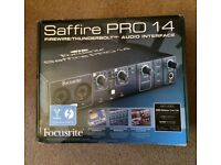 *NEW* Focusrite Saffire Pro 14 Audio Interface - FireWire/Thunderbolt
