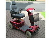 Invacare Auriga 10 Mobility Scooter - very good condition; one careful owner; serviced