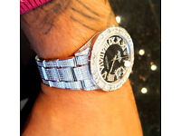 Rolex Datejust Steel Oyster Perpetual Full-flood Diamond Pave (10ct)