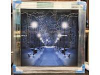 Liquid art mirror framed picture wholesale price