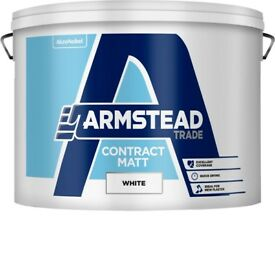 Armstead Paint Contract Matt Emulsion 15L Interior Walls White