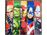 Marvel Superheroes canvas (strip design)