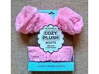 Luxury Heatable Cozy Plush Boots