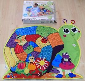 Lamaze lay and play activity mat baby toy boxed snail