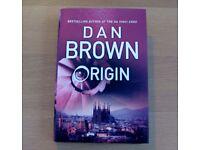 'ORIGIN' DAN BROWN HARDBACK BOOK