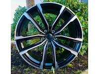 """20"""" 2021 Bmw Style alloy wheels and Tyres. Suit BMW 3 Series (F30) 5 Series F10"""