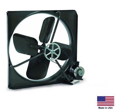 Exhaust Fan Commercial - Belt Drive - 48 - 230v - 12 Hp - 2 Speed - 17100 Cfm