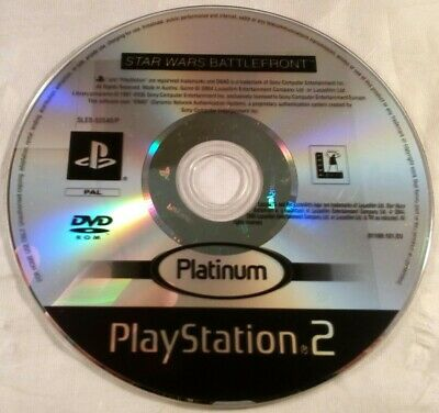Star Wars: Battlefront (Sony Playstation 2/PS2) Disc Only *TESTED*