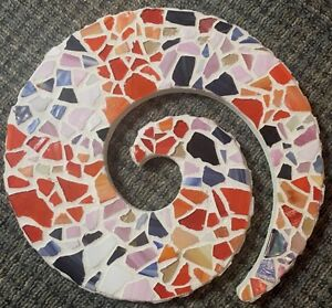Mosaic Art Swirl: Add Color To Your Wall