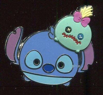 Tsum Tsum Booster Stitch & Scrump Disney Pin 102853